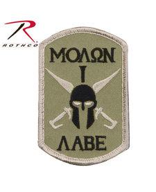 Molon Labe Spartan Moral Patch
