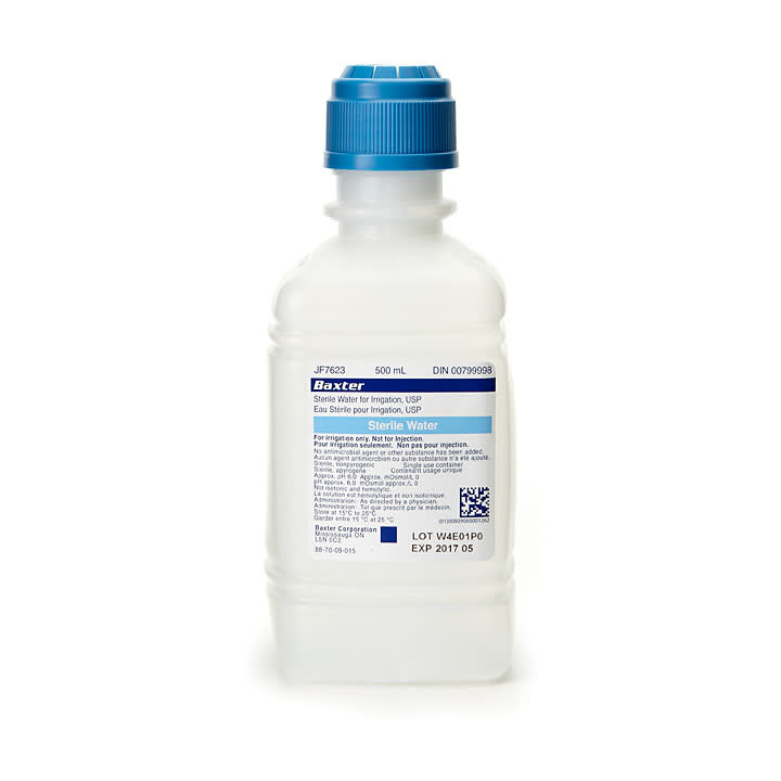 Irrigation Solution Sterile Water 500ML
