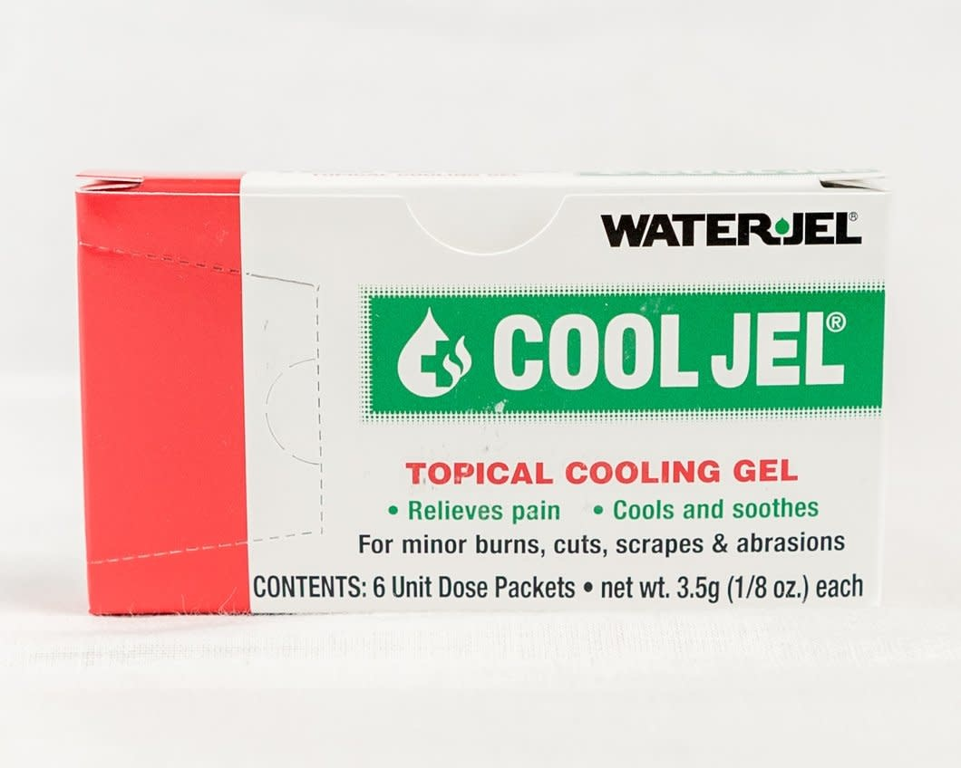 WaterJel Cool Jel Burn Gel - 3.5g pkg - 6/box
