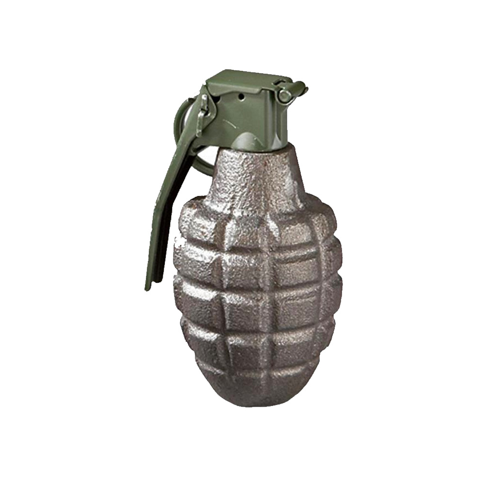 Metal Deactivated Grenade