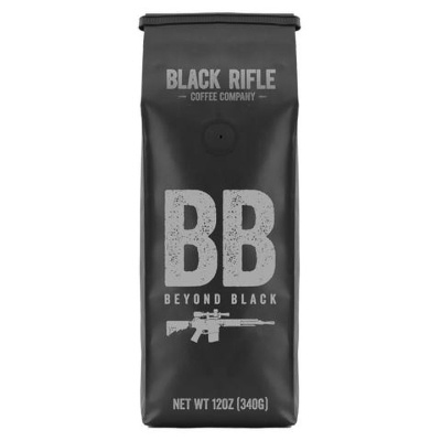 Black Rifle Coffee Company Ground 12oz Bag Beyond Black