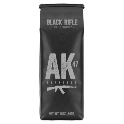 Black Rifle Coffee Company Ground 12oz Bag AK-47