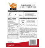 Happy Yak Freeze Dried Meals Chicken and Orzo Soup