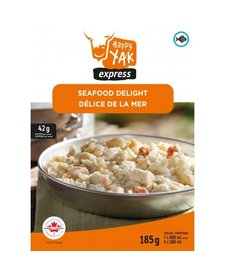 Freeze Dried Meals Seafood Delight (w/ Bechamel Dill Sauce)