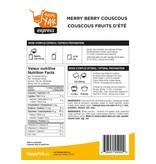 Happy Yak Freeze Dried Meals Merry Berry Couscous