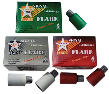 Tru Flare Signal Flare RED
