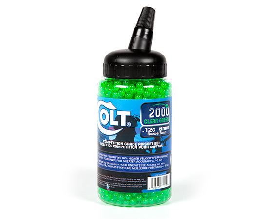 Palco .12g BBs Clear Green 2000