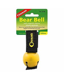 Coghlans yellow magnetic bear bell