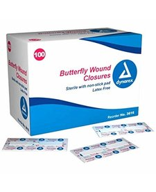 Butterfly Wound Closures