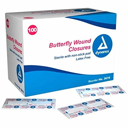 Dynarex Butterfly Wound Closures