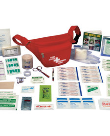 First Aid Kit - Hikers Standard - Nylon Soft Pack