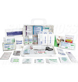 Safe Cross First Aid Kit - Sports Deluxe - Plastic Box