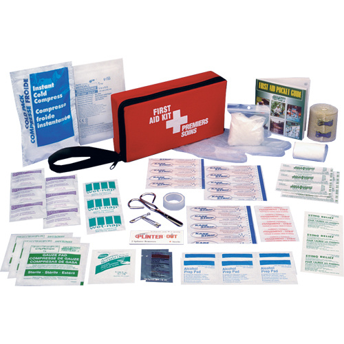 Safe Cross Rectangular First Aid Kit