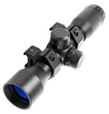 AIM Sports 4X32 Fog Proof Scope w/ rings Rangefinder