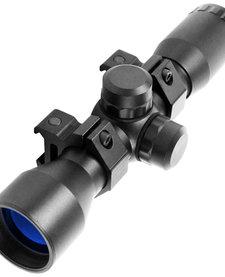 4X32 Fog Proof Scope w/ rings Rangefinder