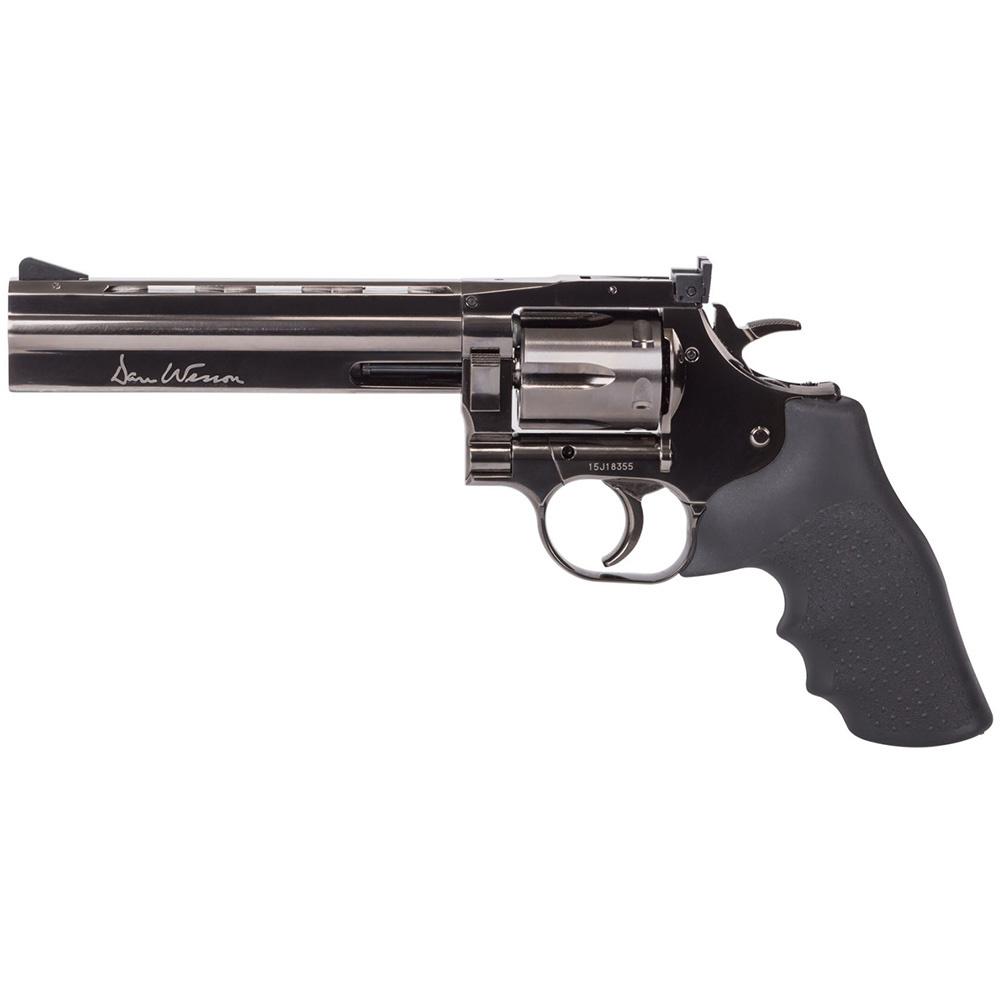 "ASG Dan Wesson 6"" Revolver Grey"