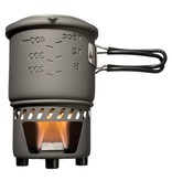 Esbit Solid Fuel Stove Plus Cookset Stainless Steel