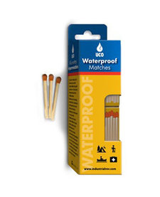 Waterproof matches 4 boxes of 40