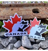 Patch Panel Team Canada Patch + Sticker