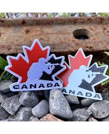 Team Canada Patch + Sticker