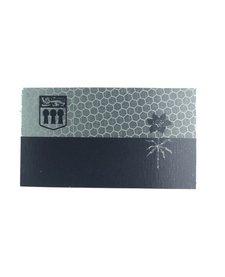 Saskachewan Flag - Black and Grey - Hi Vis