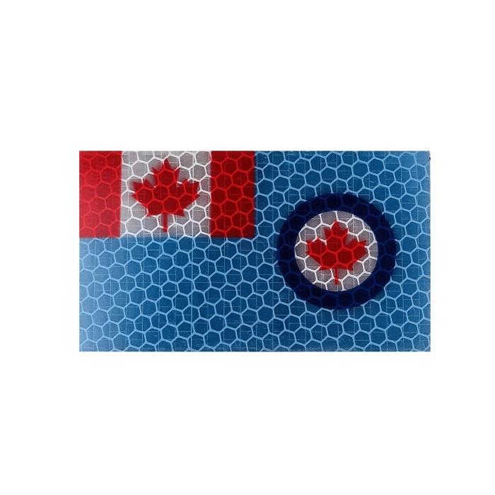 Patch Panel Royal Canadian Air Force Flag - Hi Vis