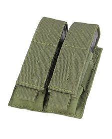 Molle Double Pistol Mag Pouch Olive Drab