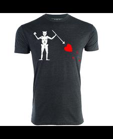 Blackbeard's Flag T-shirt XL