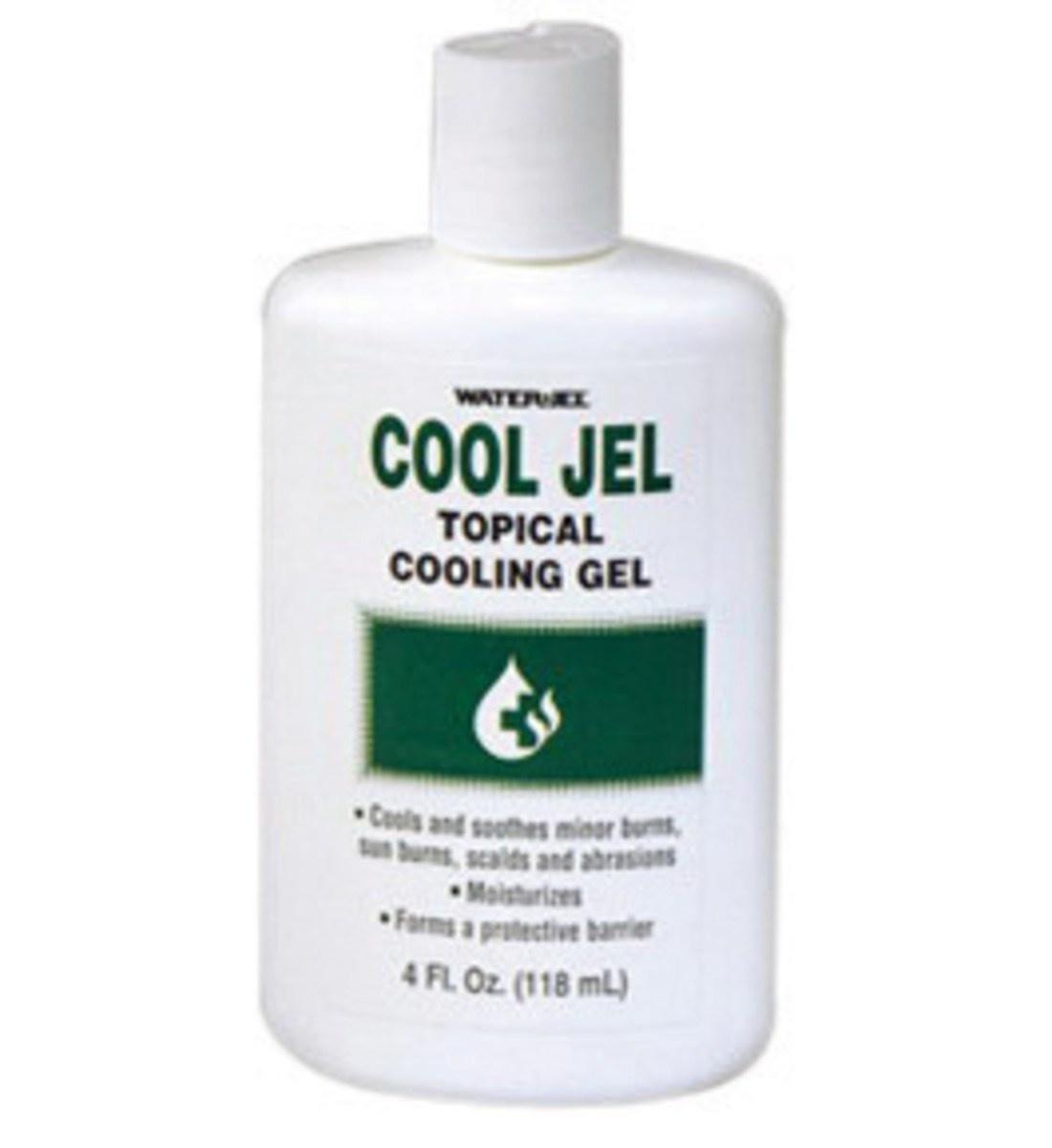 WaterJel Topical Cooling Gel 4fl oz. 118ml