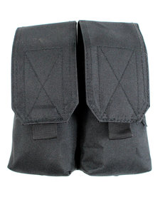 Double Rifle Molle Mag Pouch - Blk