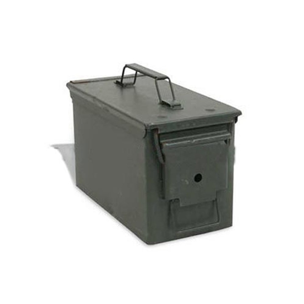 US Military Issue 50 Cablibre Ammo Can