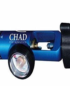 CHAD Blue Regulator 0-15 lpm