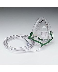 Oxygen Mask, Adult, Medium Concentration