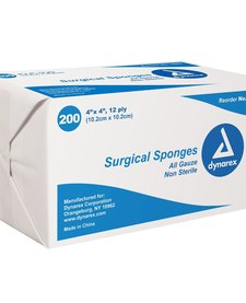 Surgical Sponges All Guaze Non Sterile