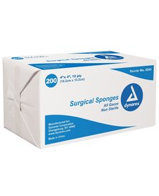 Surgical Sponges All Guaze Non Sterile