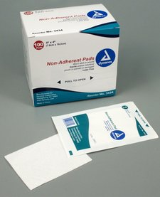 """Non Adherent Pads Sterile 3""""x4"""""""