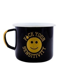 BRCC F*CK Your Sensitivity Enamel Mug