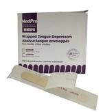"""Tongue Depressor 6"""" Individually Wrapped (25/pkg)"""