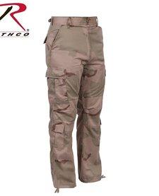 Vintage Camo Paratrooper Fatigue PantsTri-Color Desert