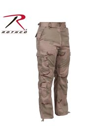 Vintage Camo Paratrooper Fatigue Pants Tri-Color Desert