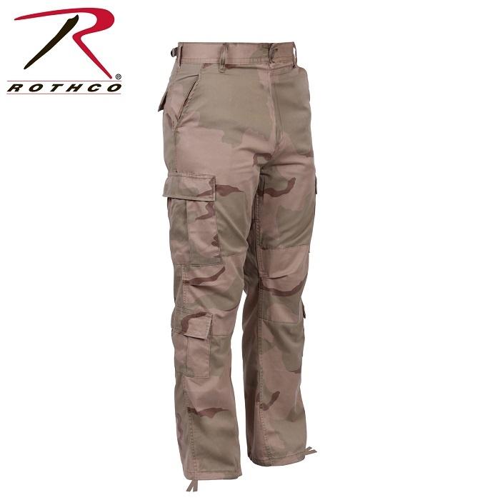 Rothco Vintage Camo Paratrooper Fatigue PantsTri-Color Desert