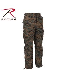 Vintage Camo Paratrooper Fatigue Pants Woodland Digital Camo