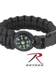 Paracord Compass Bracelet8 Inches