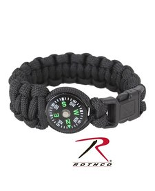 Paracord Compass Bracelet 8 Inches