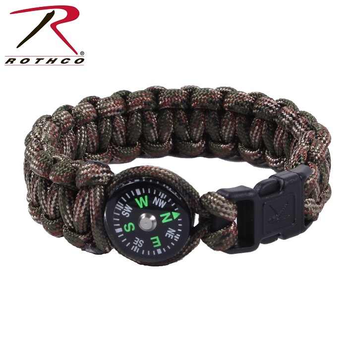 Rothco Paracord Compass Bracelet8 Inches