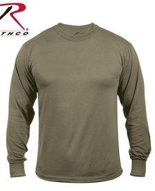 Moisture Wicking Long Sleeve Shirt - Olive Drab