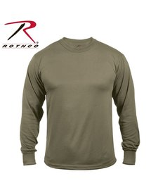 Moisture Wicking Long Sleeve Shirt - Olive Drab