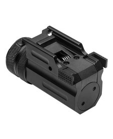 Ultra Compact Green Pistol Laser With Quick Release Weaver Mount