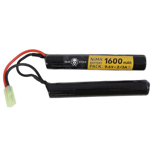 Gear Stock 9.6v 1600mAh Battery Nunchuck