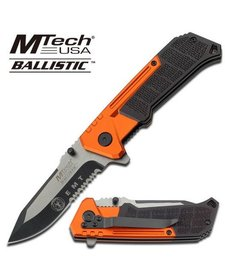 Orange & Black Ballistic MTA807EM